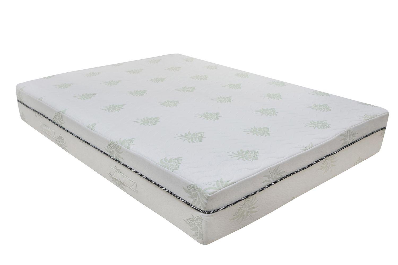 Merax 11 Inch Comfortable Sleep Aloe Vare Gal Memory Foam Mattress With Pillow Gel Memory Foam Mattress Mattress Twin Mattress