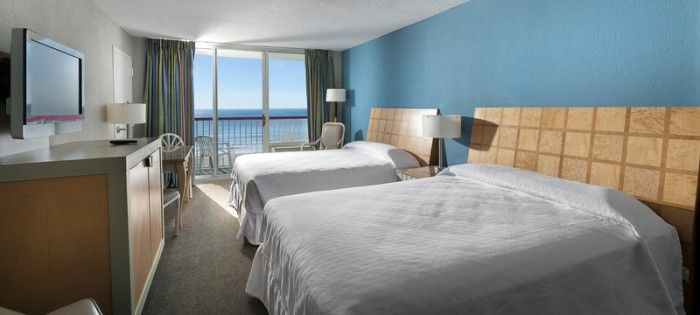 Rooms at the Crown Reef Resort have been completely remodeled and are ready for the summer season in Myrtle Beach.