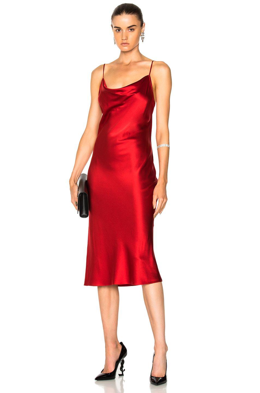 5f5d98fb176d12 FLEUR DU MAL Cowl Neck Slip Dress. #fleurdumal #cloth # | Fleur Du ...