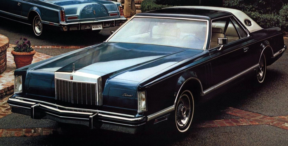 1977 Lincoln Mark V Bill Blass Edition Lincoln Continental Lincoln Cars American Classic Cars
