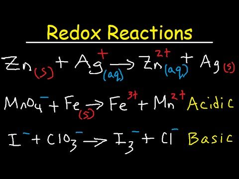 Oxidation And Reduction Redox Reactions And Electrochemistry