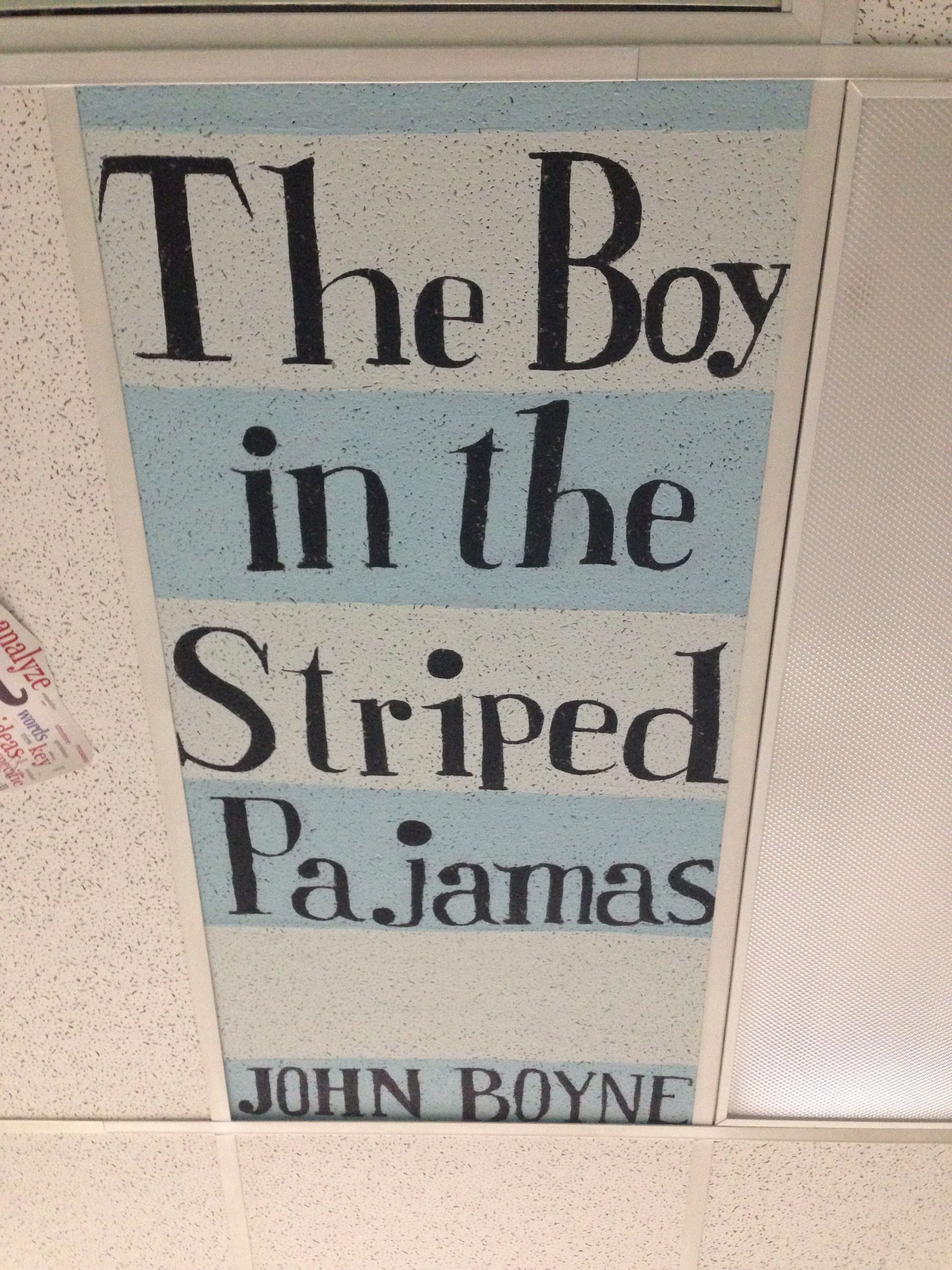 The Boy in the Striped Pajamas ceiling tile Ceiling