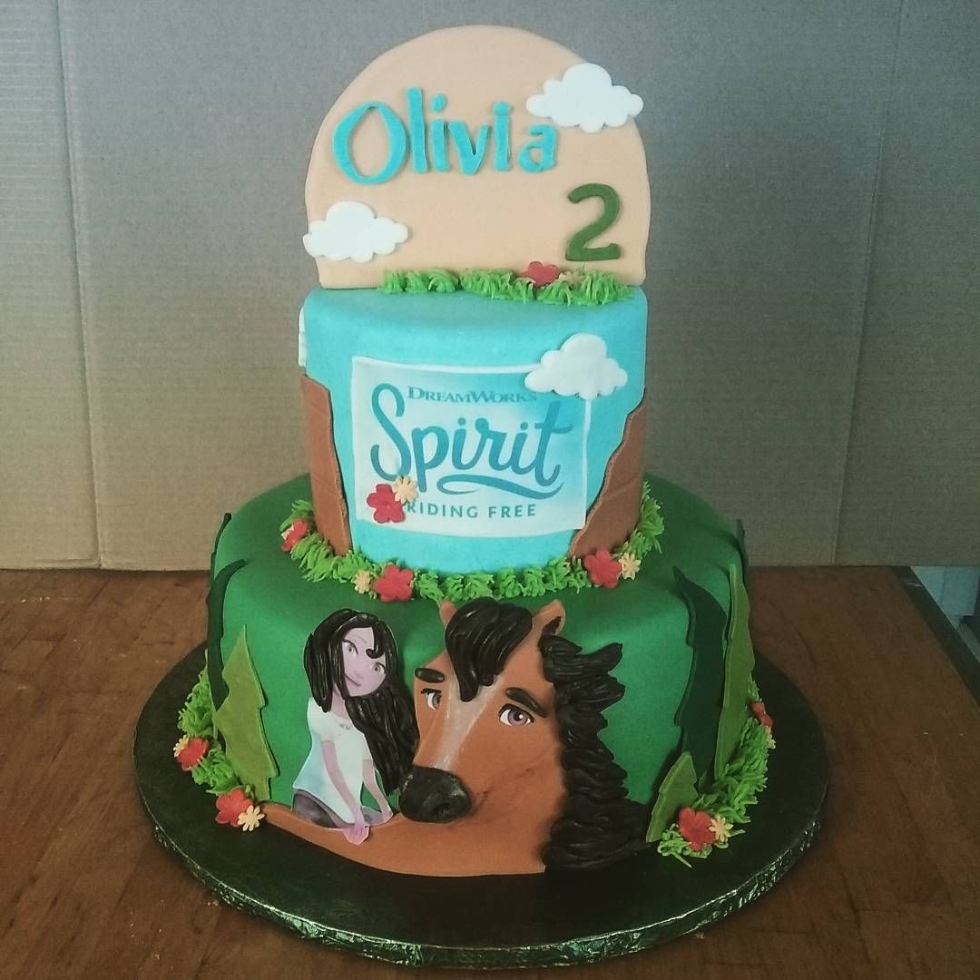 Spirit Cake Such A Cute Show I Always Have To Do My Research Before A Cake Spirit Sp Horse Birthday Parties Horse Theme Birthday Party Horse Birthday Cake