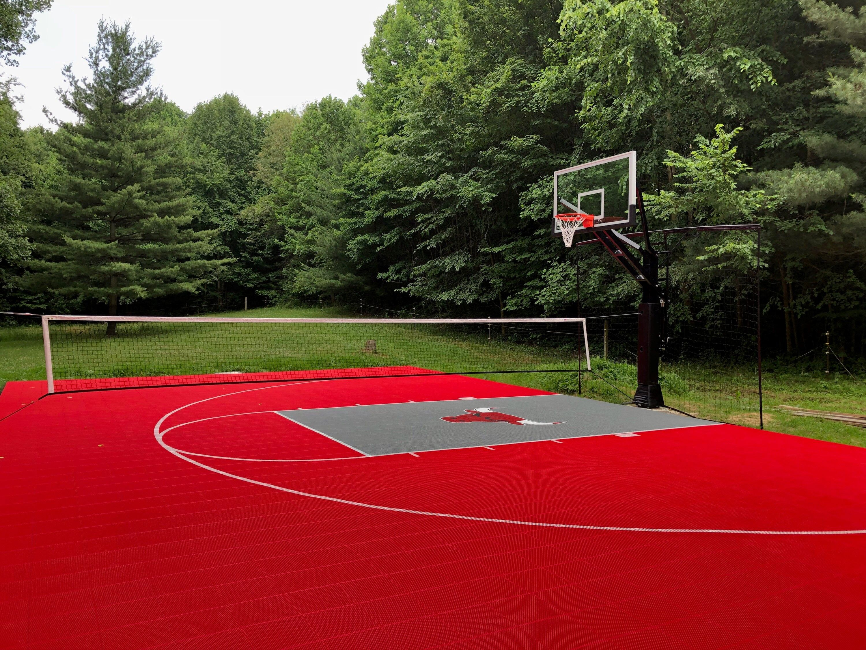 Chicago Bulls Court By Sport Court Midwest Sport Court Sports Midwest Sports