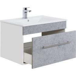 Photo of Bathroom furniture set Viva 75 (5 pieces) concrete emotion