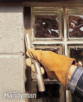Installing Gl Block Windows In Basement