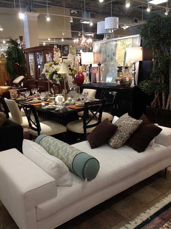 Consignment shop furniture and home decor