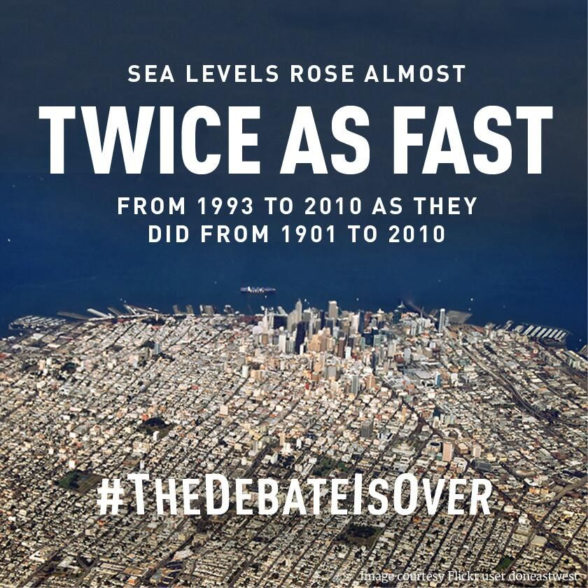 TheDebateisOver via LCV Voters Global warming climate