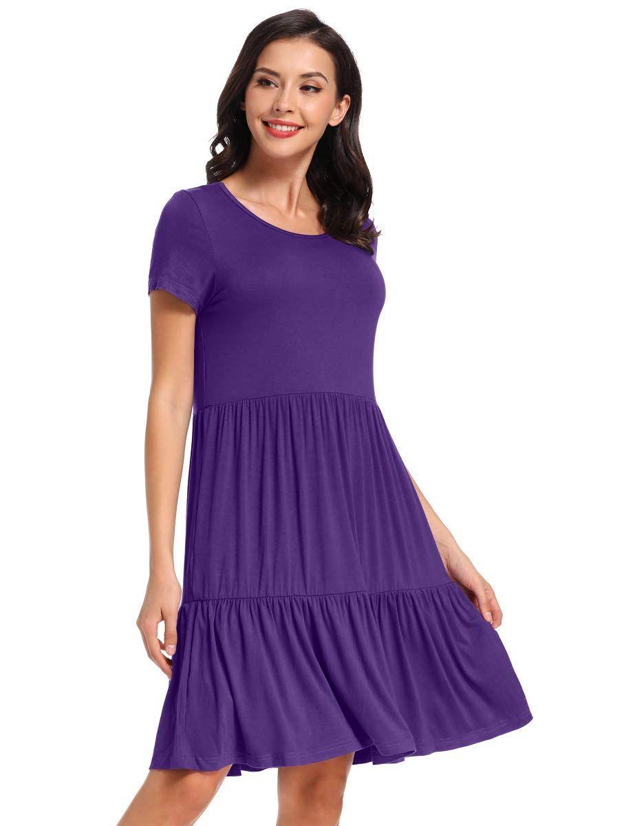 Vepkul Womens Dresses Summer Sleeve Summer Dresses For Women Womens Dresses Casual Dresses [ 1200 x 923 Pixel ]