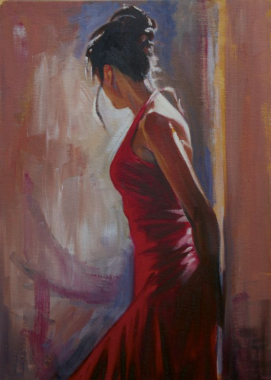 "Jim Hanlon; Oil, Painting ""Of The Moment"""