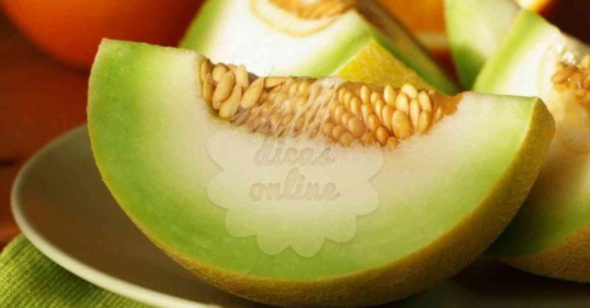 Beneficios Sementes Melhao 1 Melao Tipos De Frutas Sementes