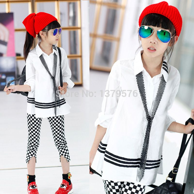 Ango] Summer 2015 Baby Boys Girls Cool shirts design blouse White ...