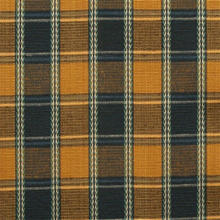 Lee Jofa Fabric 970003.540 Alicante Plaid Copenha