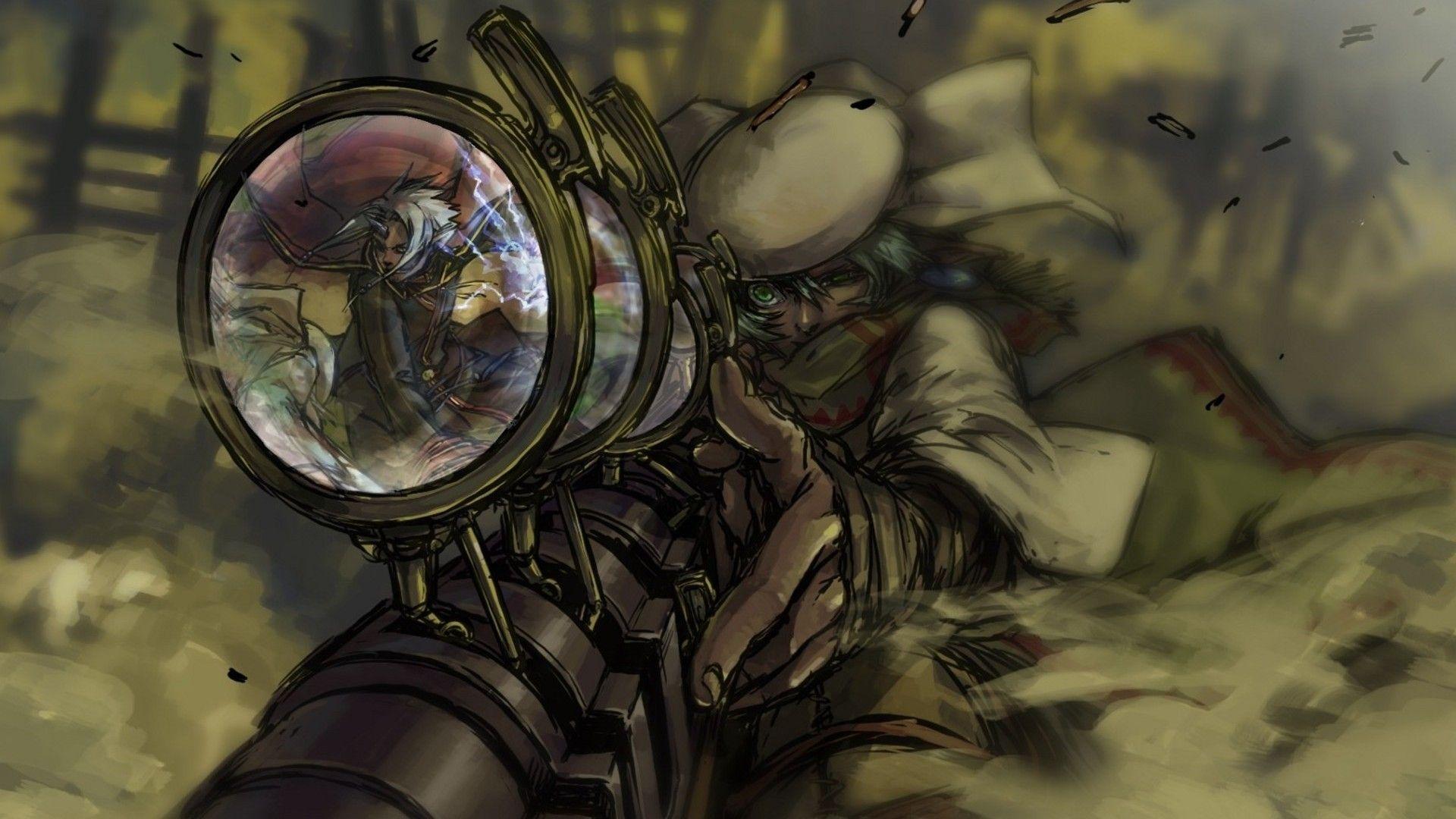 Epic Anime Guns High Resolution Wallpaper HD Wallpapers