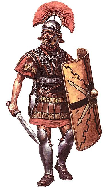 This Ancient Roman Soldier Won The Equivalent Of The Medal Of Honor 6 Times Roman Armor Roman Warriors Roman Soldiers