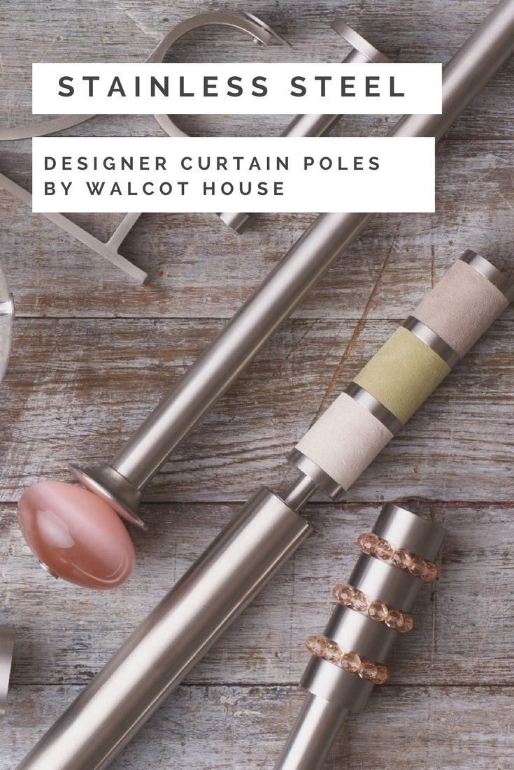 Stainless Steel | Curtain Poles Collection | 50mm | 30mm | 19mm ...