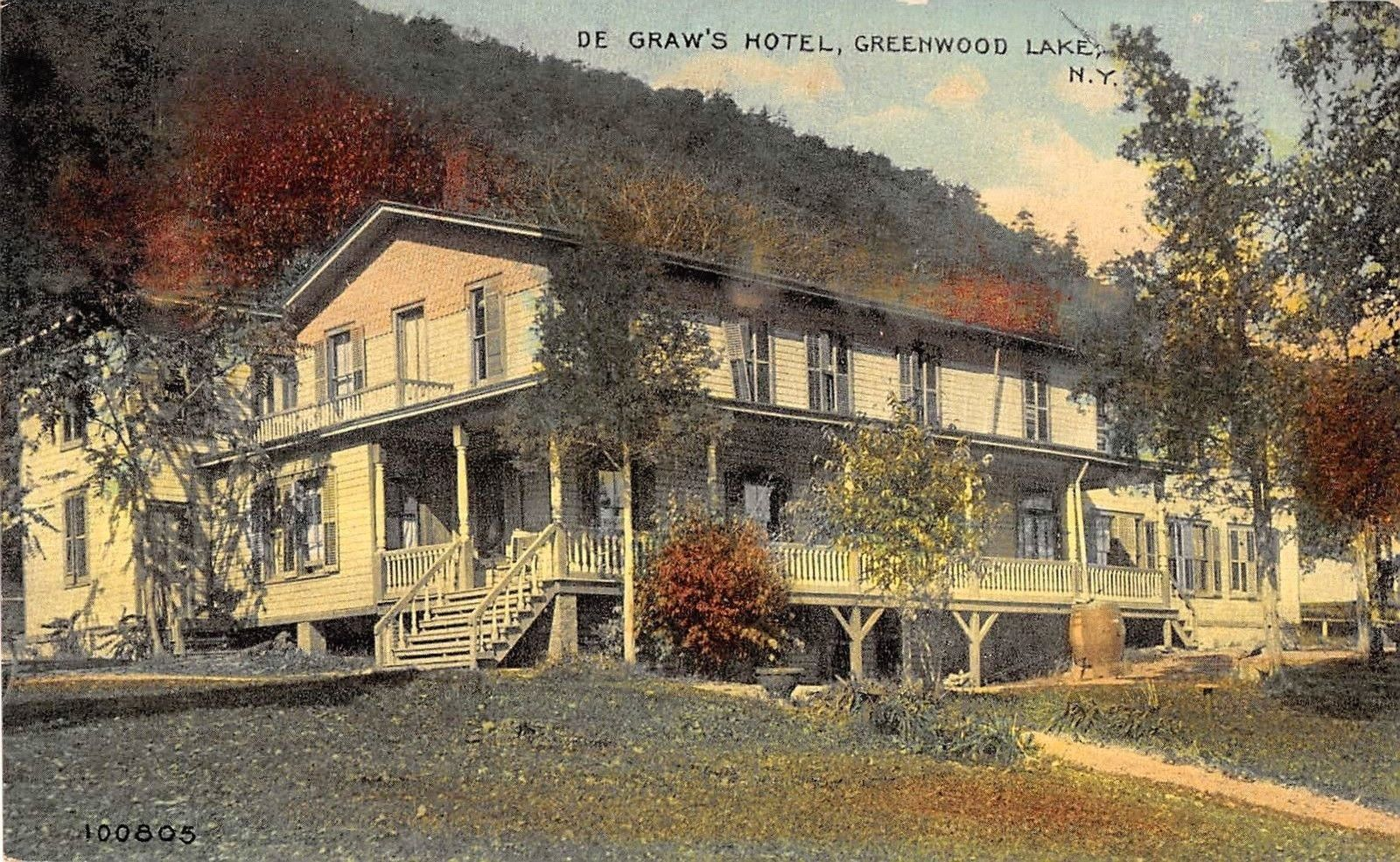 Images Of Warwick New York De Graw S Hotel Greenwood Lake Greenwood Lake Greenwood Lake