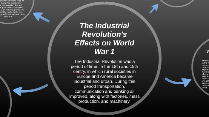 social effects of world war 1