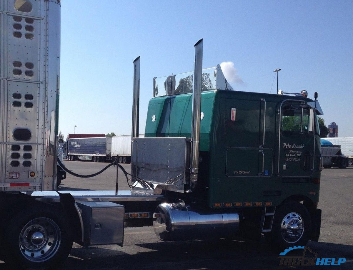 4 door cabover peterbilt trucks 362 for sale