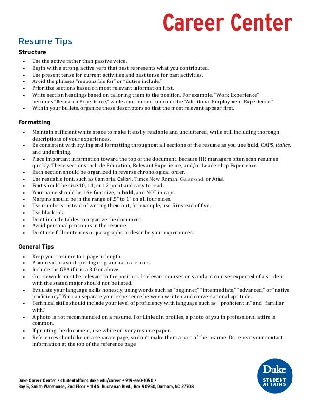 Student Affairs Resume Resume Tips And Improving Verbs  Resume Guide  Pinterest