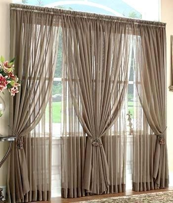 Big Window Curtains Curtain Ideas Big Window Curtains Curtain