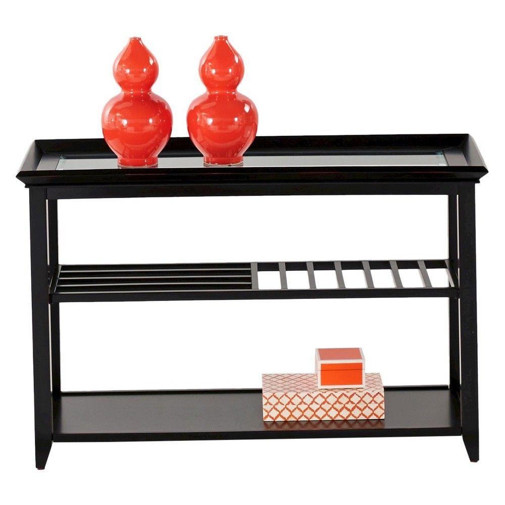 Sandpiper Console Table - Black - Progressive Furniture
