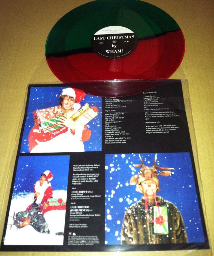 Michael WHAM Last Christmas INSTRUMENTAL LIMITED