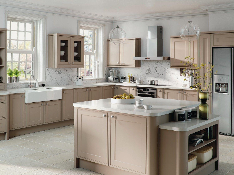 Matt Stone Grey Tullymore Kitchen Kitchen Dinning Grey Kitchens - Kitchen-cabinet-doors-designs-concept