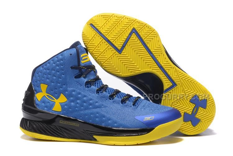 891be401bfa5d Discount Under Armour Curry One Royal Blue Yellow-Black in 2019 ...