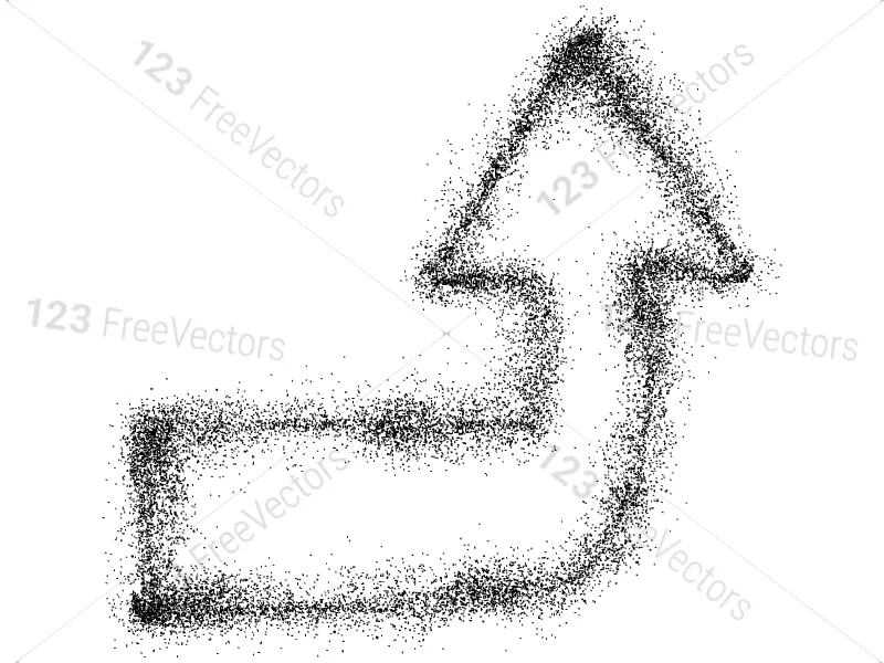 Spray Paint Arrows Vector and Brush Pack01 in