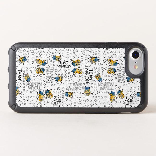 Despicable Me | Team Minion Pattern Speck iPhone Case | Zazzle.com #minionpattern