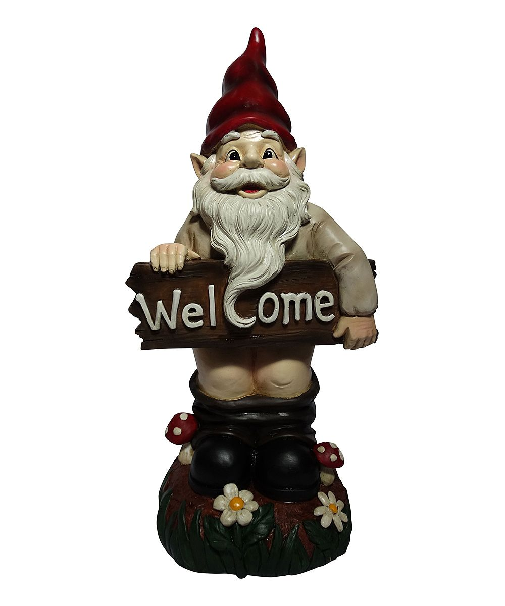 Welcome Statues Garden Welcome Pants Down Gnome Garden Statue Products Gnome Statues