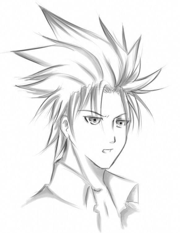 Sketsa Anime Keren Bagaimana Dengan Penjelasan Diatas Gambar Anime Keren Pensil Selain Menggambar Dengan Aplikasi Gambar Terb Di 2021 Sketsa Anime Gambar Anime Sketsa