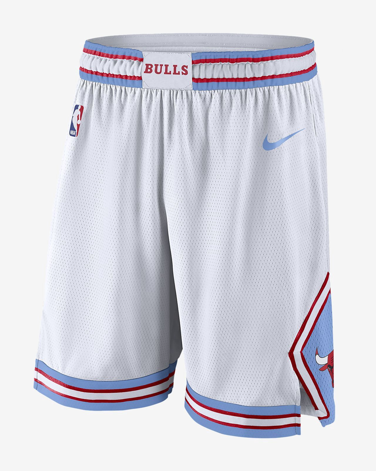 8319478f2 Nike Chicago Bulls City Edition Swingman Men s Nba Shorts - 3XL Blue ...