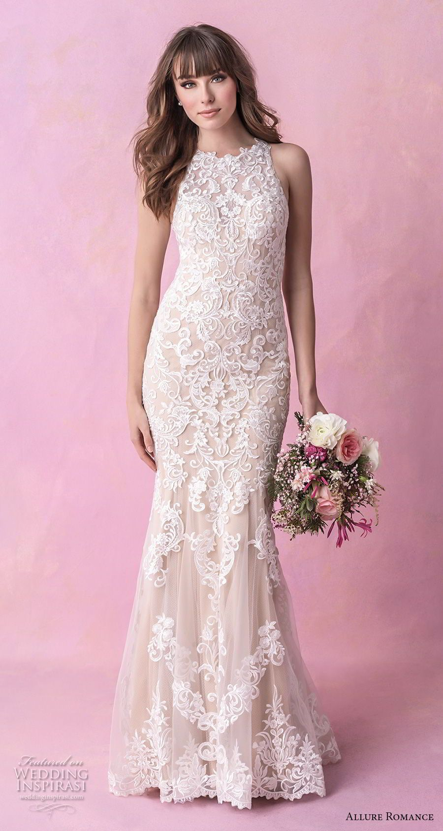 Allure Romance Fall 2018 Wedding Dresses | Vestidos de novia, Novios ...