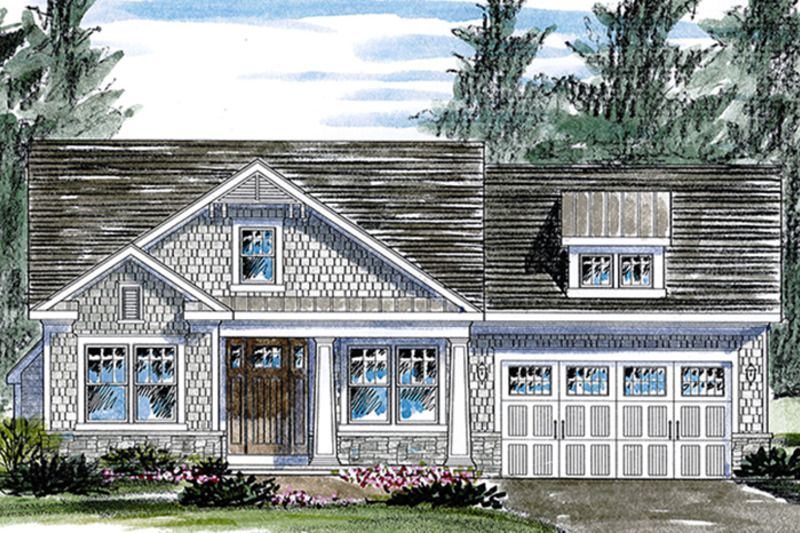 Colonial Style House Plan 2 Beds 2 Baths 1598 Sq Ft Plan 316 283 Barn House Plans House Plans Colonial Style Homes