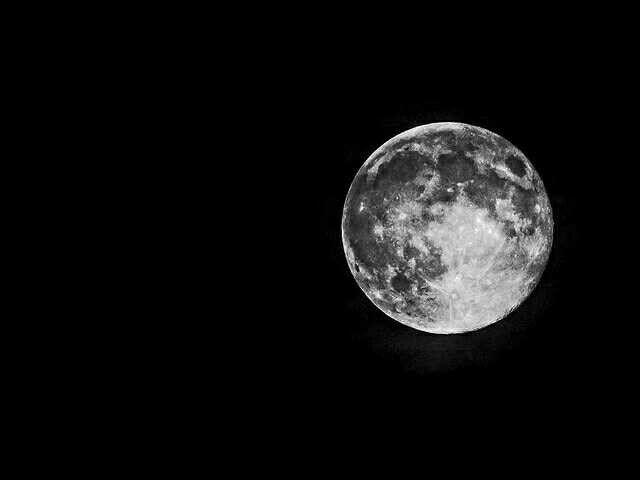 Full moon. Olympus EM5. hand held.