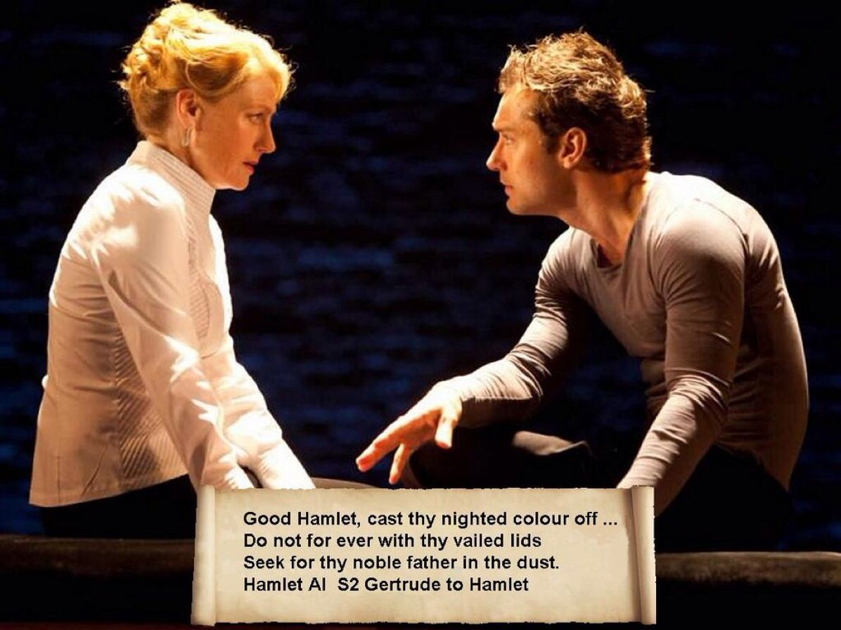 gertrude and hamlet quotes