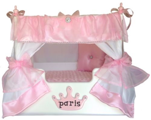 This Princess Canopy pet bed is great for the p&ered princess pet in your home.  sc 1 st  Pinterest & This Princess Canopy pet bed is great for the pampered princess ...