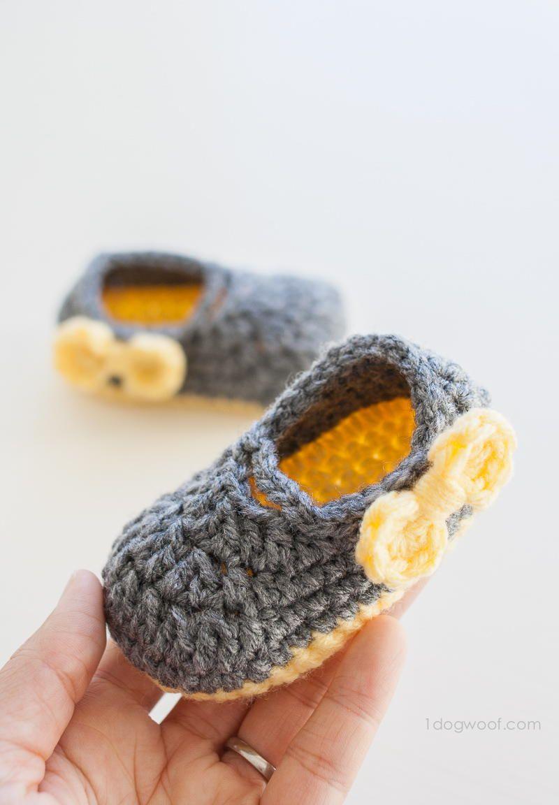 Piper Jane Baby Shoes | Häkeln, Babyschühchen und Häckeln