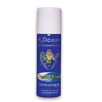 Ocean Foam Tattoo Aftercare H2ocean Tattoo Aftercare Health