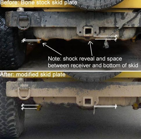 Gas Tank Lift For Greater Departure Angle And Increased Ground Clearance Gas Tanks Gas Bone Stock