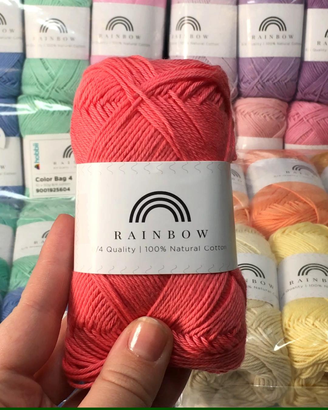 Photo of -37% auf Rainbow Garnpakete!