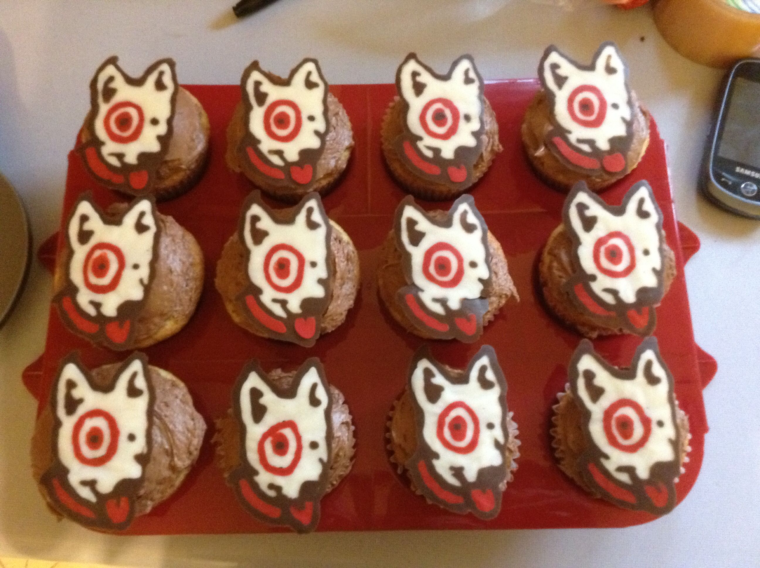 Bullseye The Target Dog Cool Cupcakes If You Work At
