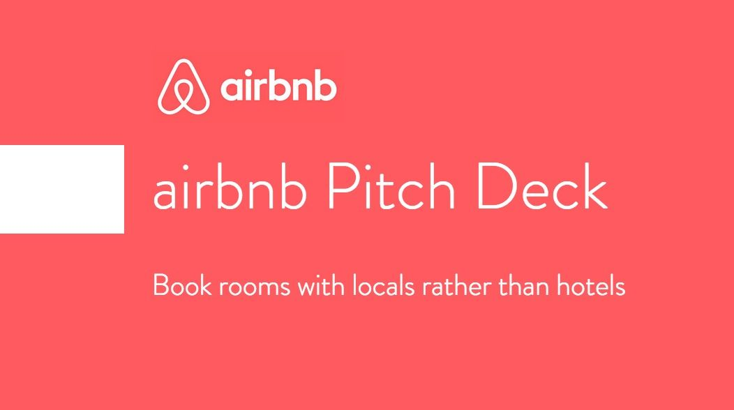 Pitch Deck Examples Investor Decks From Successful Startups - Business plan pitch template