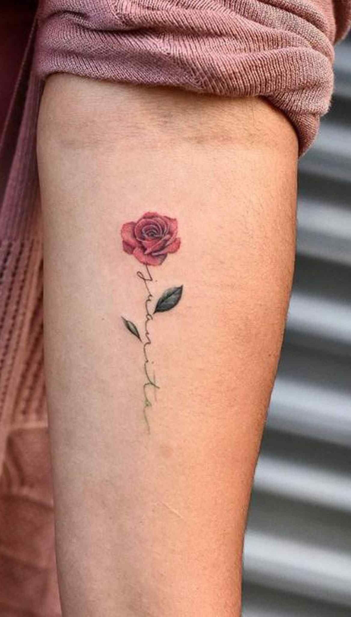 15+ Tatouage avec une rose trends