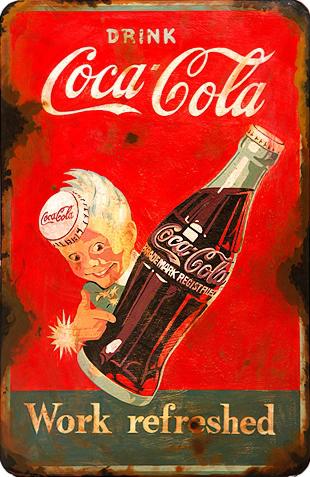 Pin En Coca Cola Retro