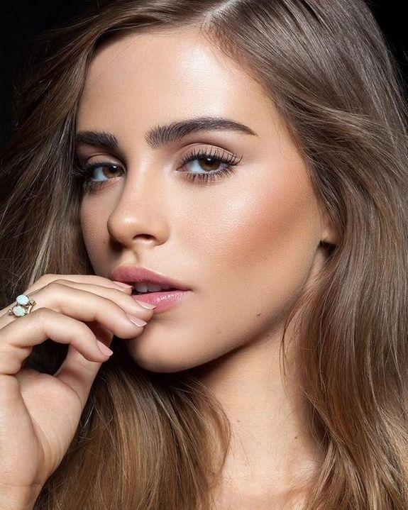 Más de 40 ideas perfectas de maquillaje para bodas de verano – Ideas de maquillaje naturales – HacikoBlog