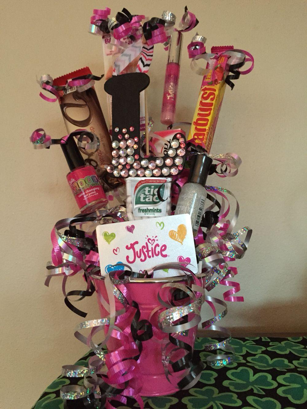 10 year old bday gift basket girl gift baskets diy
