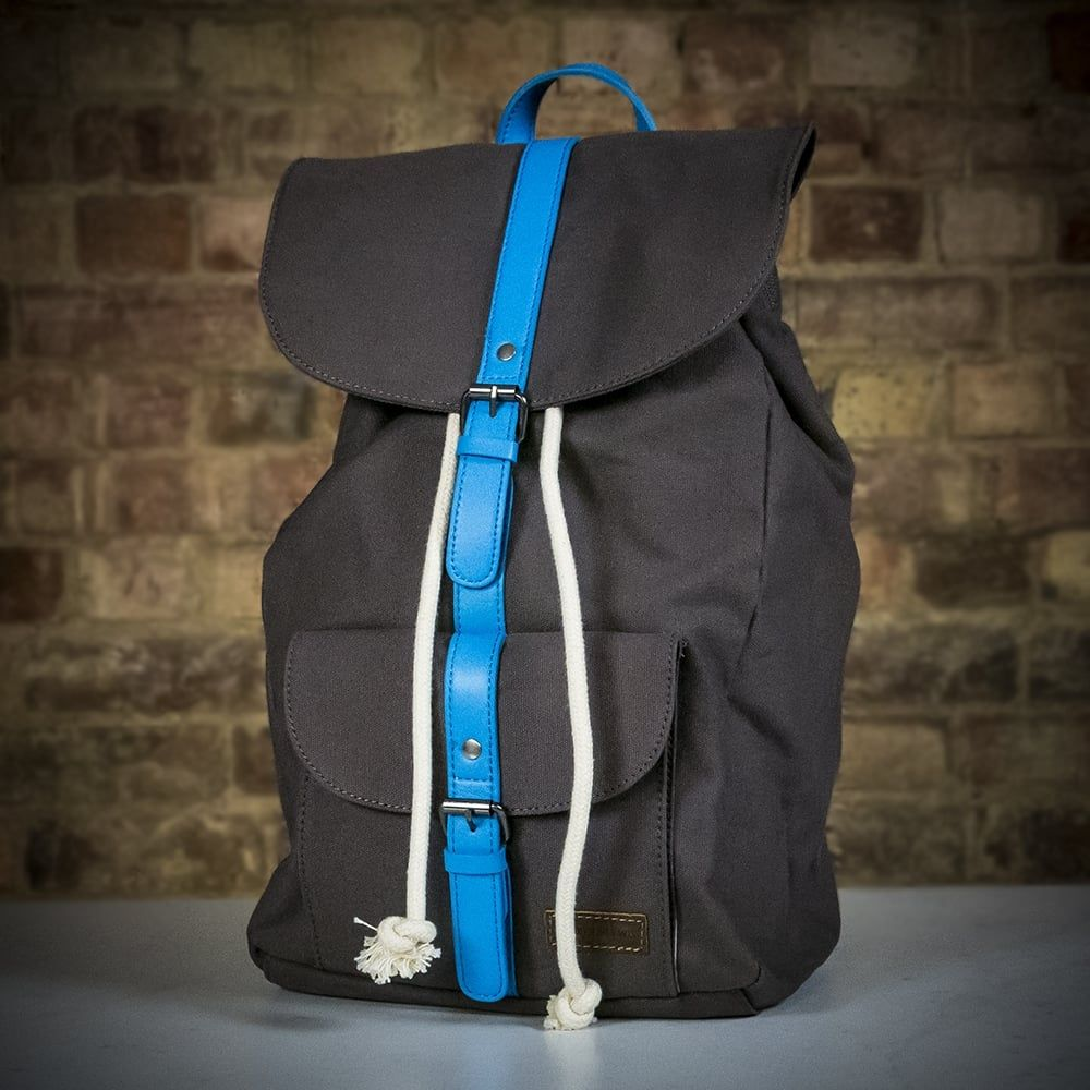 8fa43f4e80b Forbes & Lewis Lincoln Backpack - Grey / Blue - LIMITED STOCK | The ...